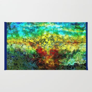 Sunset Rug by Jeanette Rietz