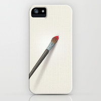 Blank Canvas - Painting iPhone & iPod Case by Nicole Cleary