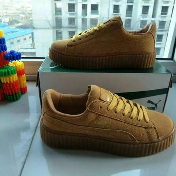 """PUMA"" All-match Male Female Fashion Couple Sneakers Plate Shoes Single Shoes Casual Shoes"
