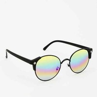 Quay Ivy Rainbow Sunglasses- Black One