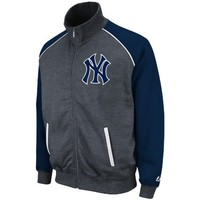 MLB New York Yankees Legendary Convertible Collar Track Jacket