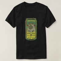 Zombie-Beer- Distressed T-Shirt