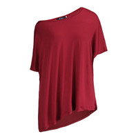 One Shoulder Short Sleeve T-Shirt