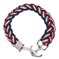 Red, White and Blue Nautical Bracelet