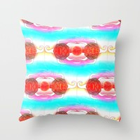 Joy Throw Pillow by Fruit Of Phalanges | Society6