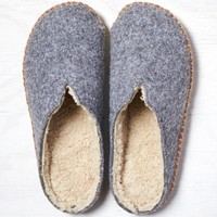 Woolrich Felted Wool Slipper