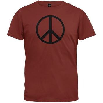 Peace Sign Cedar T-Shirt