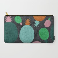Pineapple Lovers Carry-All Pouch by Susana Paz