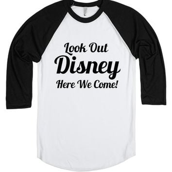 Look Out Disney Here We Come Family Vacation Shirt | | SKREENED