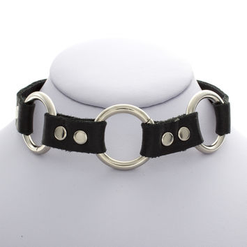 Three Ring Choker