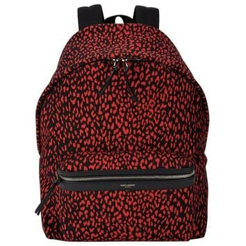 chanel inspired bags. saint laurent red exotic print backpack chanel inspired bags i