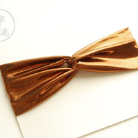 Baby Twisted Turban Headband COPPER Baby Headband Copper BLACK Toddler Headband