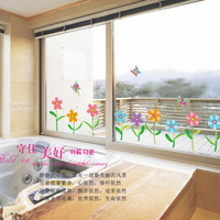 Wall stickers corridor kindergarten classrooms background the sitting room decorate the line that play a base waist line posts SM6