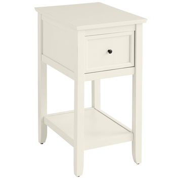 Ashington Antique White End Table