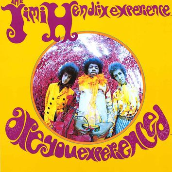 Jimi Hendrix Are You Experienced Poster 24x36