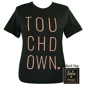 Girlie Girl Originals Lulu Mac Preppy Touchdown T-Shirt