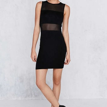Silence + Noise Mesh Bandeau Bodycon Mini Dress - Urban Outfitters