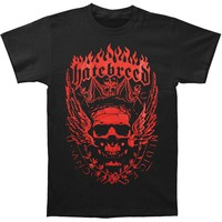 Hatebreed Men's  Crown T-shirt Black