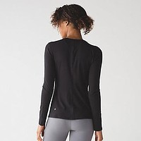 Lululemon Women Long Sleeve Sport Tunic Shirt Top Blouse