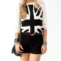 Union Jack Raglan Sweater