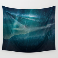 Lost cellphone service Wall Tapestry by HappyMelvin