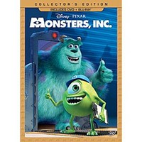 Monsters, Inc. DVD and Blu-ray Combo Pack - Collector's Edition | Disney Store