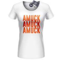 Amuck Amuck Amuck T Shirt Hocus Sisters Halloween Outfit Womens Top 415