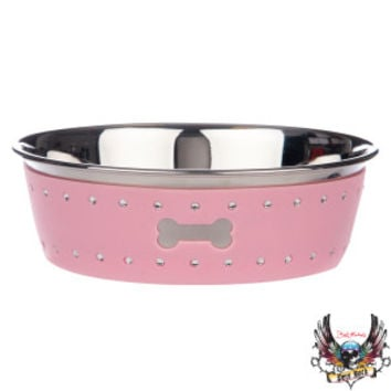 Bret Michaels Pets Rock™ Bling Dog Bowl | Food & Water Bowls | PetSmart