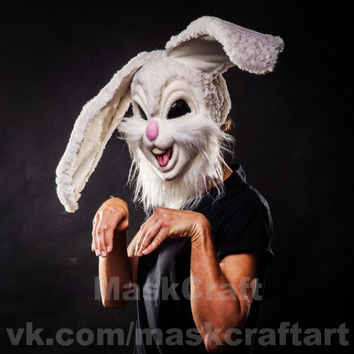 Rabbit helmet-mask by Maskcraft (Size 60-62)