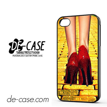Yellow Brick Road Dorothy Wizard Of Oz Inspired Cute Ruby Red DEAL-12122 Apple Phonecase Cover For Iphone 4 / Iphone 4S