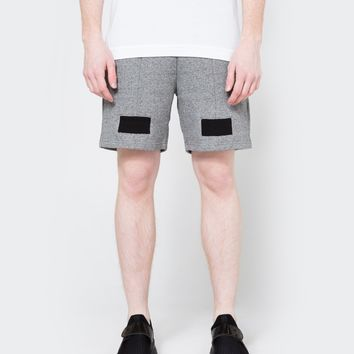 John Elliott / Paneled Shorts in Dark Grey