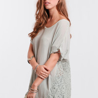 Early Morning Oversized Top By Black Swan