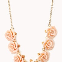 Luxe Rose Necklace