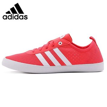 Original New Arrival 2018 Adidas NEO Label QT VULC 2.0 Women's Skateboarding Shoes Sneakers
