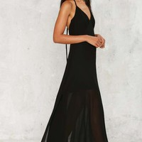 Sweep the Benefits Maxi Dress