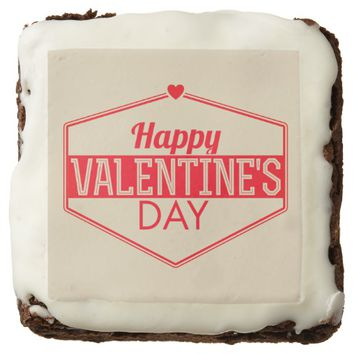 Happy Valentine's Day: Dozen Brownies