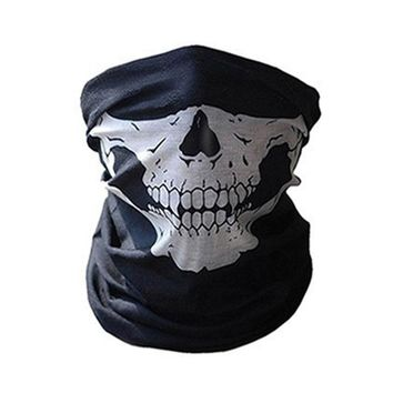 WoSporT New Outdoor Tactical Archey Skull Face Mask Seamless Military Hunting Head Scarf Face Masks Bandana Skull Scarves