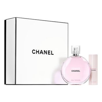 CHANEL CHANCE EAU TENDRE 5oz. Eau de Toilette Twist and Spray Set | Nordstrom