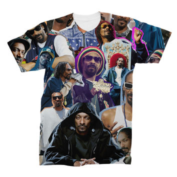 Snoop Dogg Photo Collage T-Shirt