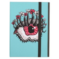 Weird Eye Melt Creepy Psychedelic Art Case For iPad Air