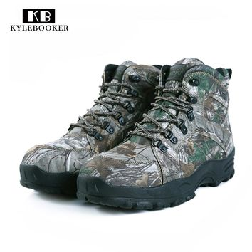 Mountain Boots Hiking Trekking camo tactical hunting boots Camouflage Hunting Boot waterproof hunting tactical waterproof boots