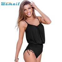 One-Piece Swimwear Female Bandage Tankini Bikini