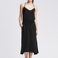 Banana Republic Womens Racerback Midi Dress