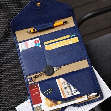 Travel Passport Cover Foldable Credit Card Holder Money Wallet Multifunction Documents Flight Bit License Purse Bag Card wallet