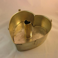 Valentine Tube Pan Heart Shaped Cake Pan