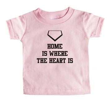Home Is Where The Heart Is Baby Tee