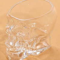 Skull Cup Mini Creative Crystal Transparent Glass