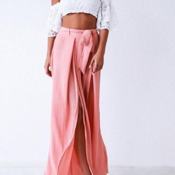 Florencia Pleated Trousers
