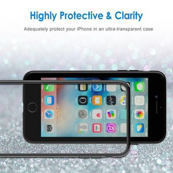 DCCKRQ5 JETech Case for Apple iPhone 6 and iPhone 6s, Shock-Absorption Bumper Cover, Anti-Scratch Clear Back, Black