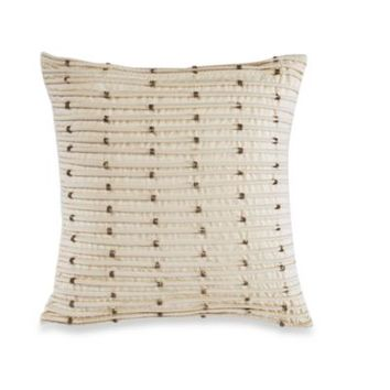 Palais Royale Pleated Square Toss Pillow